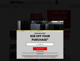 abcwarehouse.com screenshot