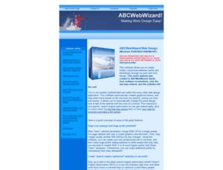 abcwebwizard.com screenshot