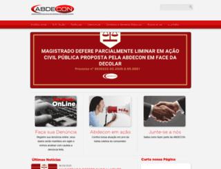 abdecon.com.br screenshot