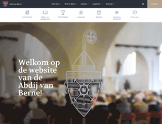 abdijvanberne.nl screenshot