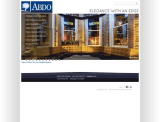 abdo.com screenshot