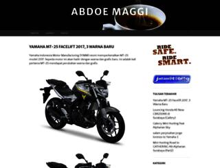 abdoemaggi.wordpress.com screenshot