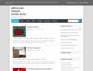 abdullahdarcin.com screenshot