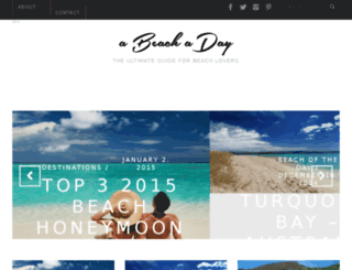 abeachaday.com screenshot