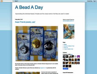 abeadaday.blogspot.com screenshot