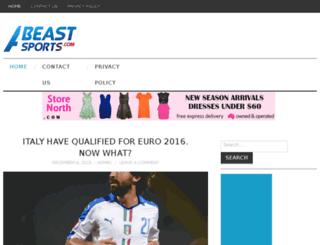 abeastsports.com screenshot
