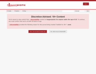 abeastwithin.dreamwidth.org screenshot