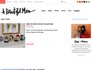 abeautifulmess.com screenshot