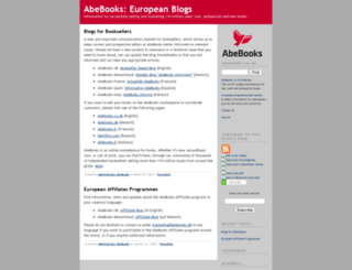 abebooks.typepad.com screenshot