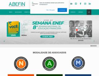 abefin.org.br screenshot