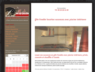 abelia-gite-vendee.com screenshot