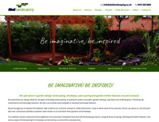 abellandscapes.co.uk screenshot