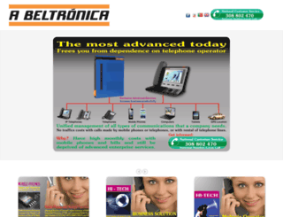 abeltronica.com screenshot