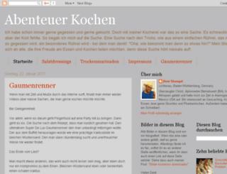 abenteuerkochen.blogspot.co.at screenshot