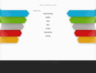 aber-cachers.co.uk screenshot