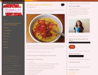 aberbittemitsojamilch.wordpress.com screenshot