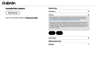 aberdeenasset.com.au screenshot