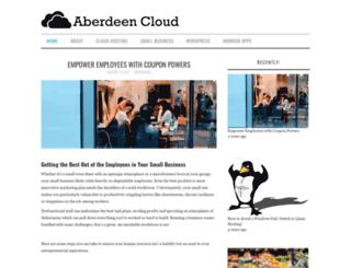 aberdeencloud.com screenshot