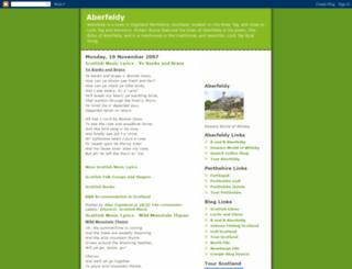 aberfeldy-scotland.blogspot.nl screenshot