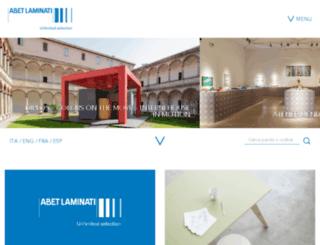 abet-laminati.it screenshot
