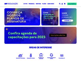 abfeducacao.portaldofranchising.com.br screenshot