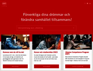 abfstockholm.se screenshot