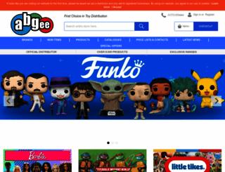abgee.co.uk screenshot