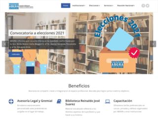 abgra.org.ar screenshot