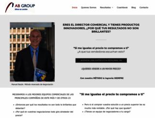 abgroup.es screenshot