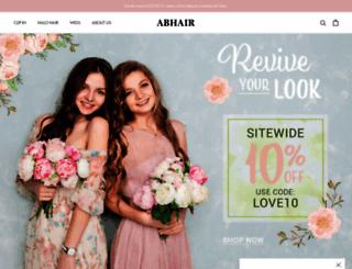 abhair.com screenshot