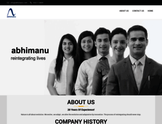 abhimanu.com screenshot