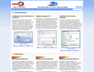 abhisoft.net screenshot