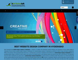 abhitechnosoft.com screenshot