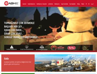 abholding.com.tr screenshot