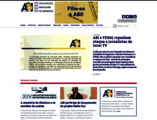 abi.org.br screenshot