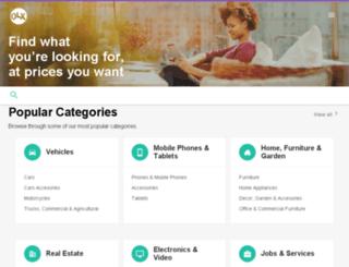 abia.olx.com.ng screenshot