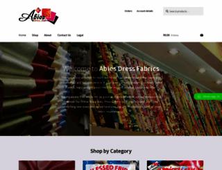 abies.co.za screenshot