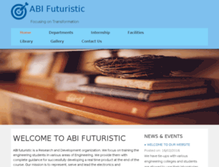 abifuturistic.org screenshot