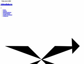 abigailahern.org screenshot