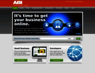 abihosting.com screenshot