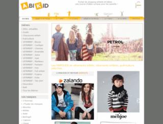 abikid.com screenshot