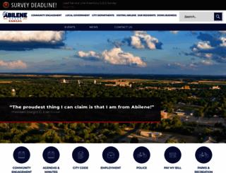 abilenecityhall.com screenshot