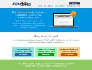 abilitus.com screenshot