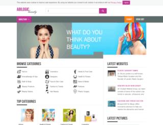 abilogic-beauty.com screenshot