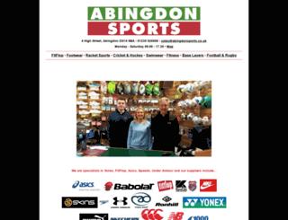 abingdonsports.co.uk screenshot