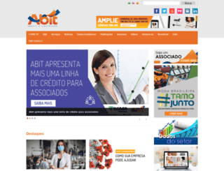 abit.org.br screenshot