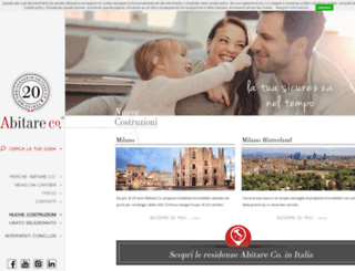 abitareco.it screenshot