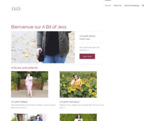abitofjess.com screenshot