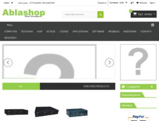 ablashop.it screenshot