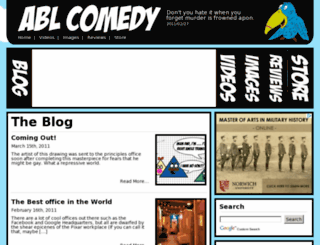 ablcomedy.com screenshot